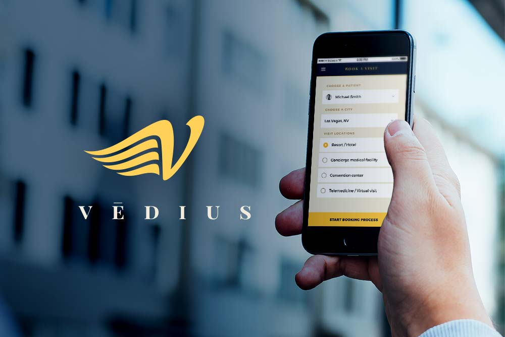 New Vēdius Medical App