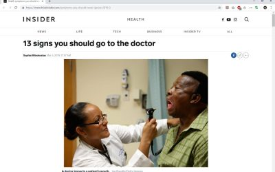 13 Signs You Should Go to the Doctor