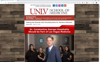 Dr. Constantine George: Hospitality Should be Part of Las Vegas Medicine